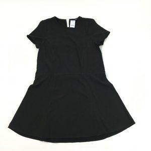 Madewell Tribune 12 Dress Short Sleeve Loose Knee